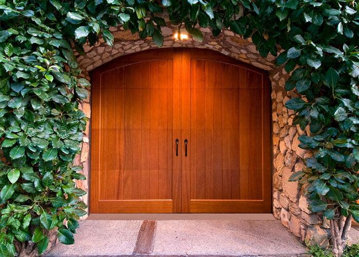 fancy wood doors