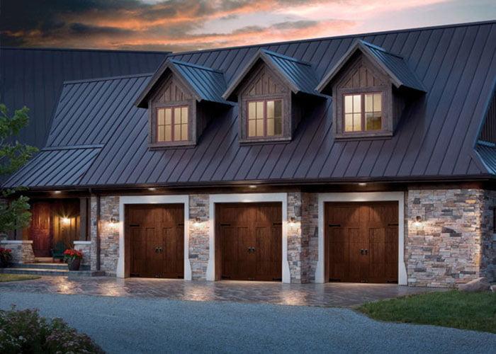 townhome garage doors